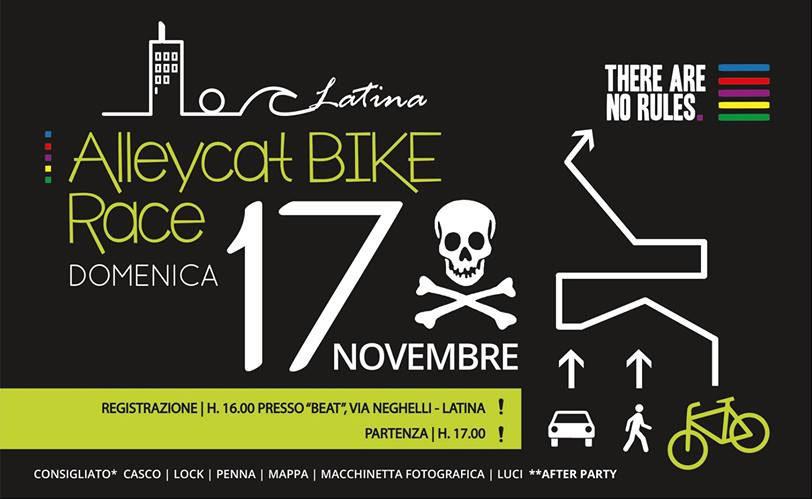 Alleycat Bike Race 17-11-13