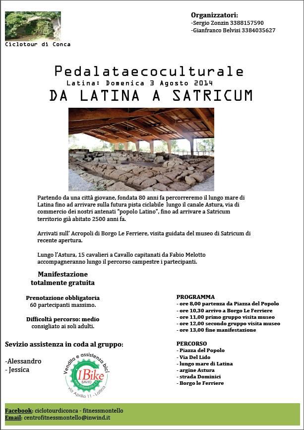 satricum pedalata
